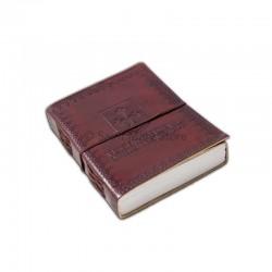 Caderno de Couro Viagem Medieval