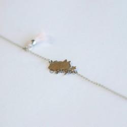 "Silver bracelet ""Fada Piri"""