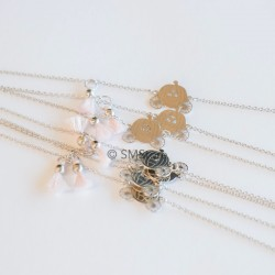 "Silver bracelet ""Coche"""
