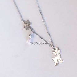 "Silver Necklace ""Rena"""