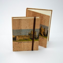 "Cork Notebook ""Castelo"""