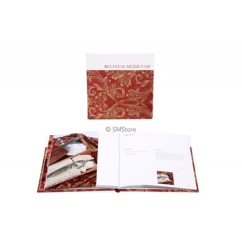 Medieval recipes book
