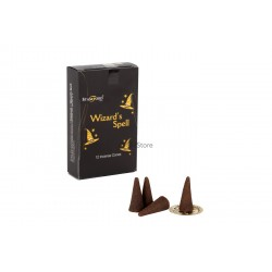 Black incense cones