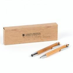 Conj caneta e lapiseira
