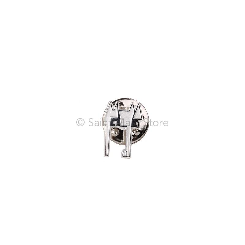 Silver Castle Pin