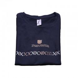 T-shirt Cruz em Faixa