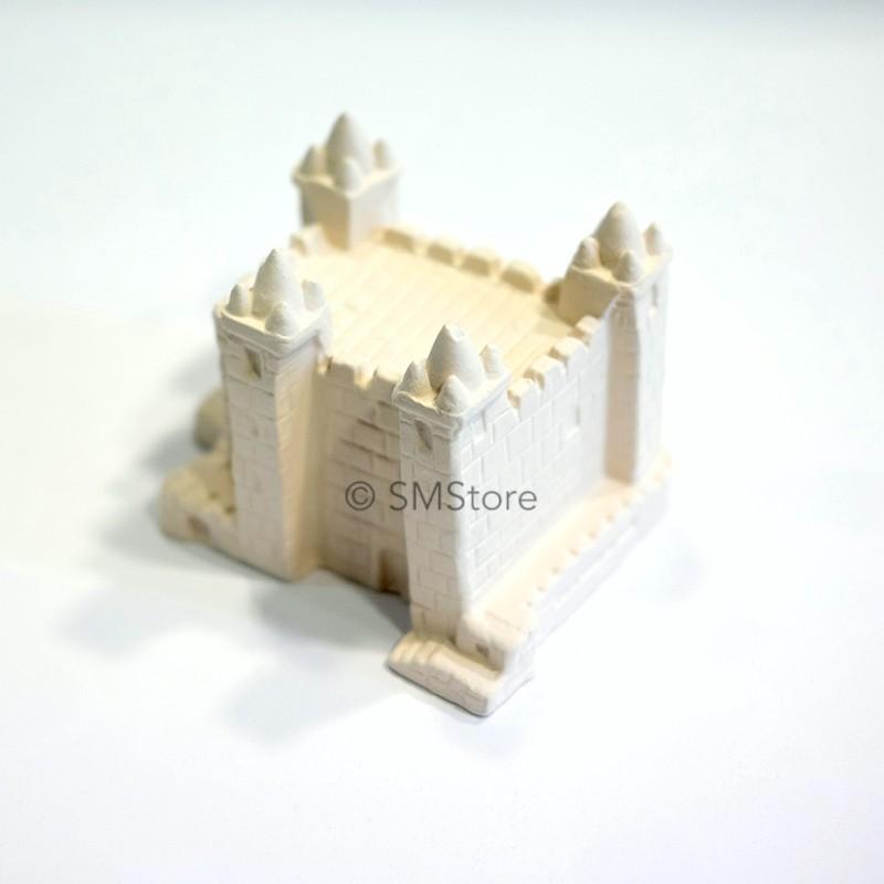 Castelo em gesso