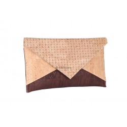 Carteira Envelope Cortiça