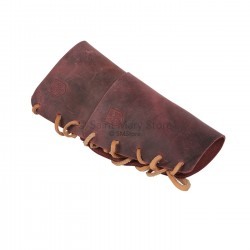 Children's leather wrist wraps