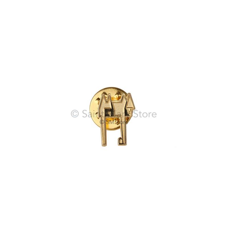 Golden Castle Pin