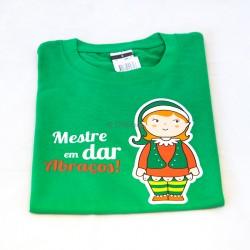 """T-shirt """"Mestre em dar..."""