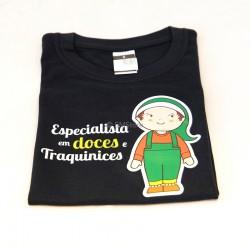 """T-shirt """"Especialista em"""
