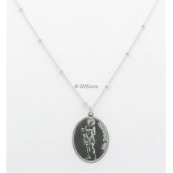 "Silver Necklace ""São..."